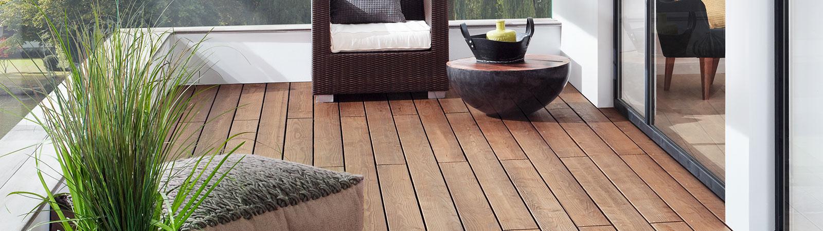 Holzanstriche für die Terrasse - Osmo Holz und Color GmbH & Co. KG
