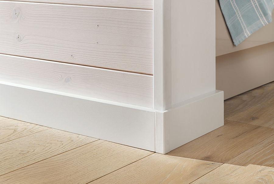Relativ Fussleisten MDF Weiß - Osmo Holz und Color GmbH & Co. KG BW49